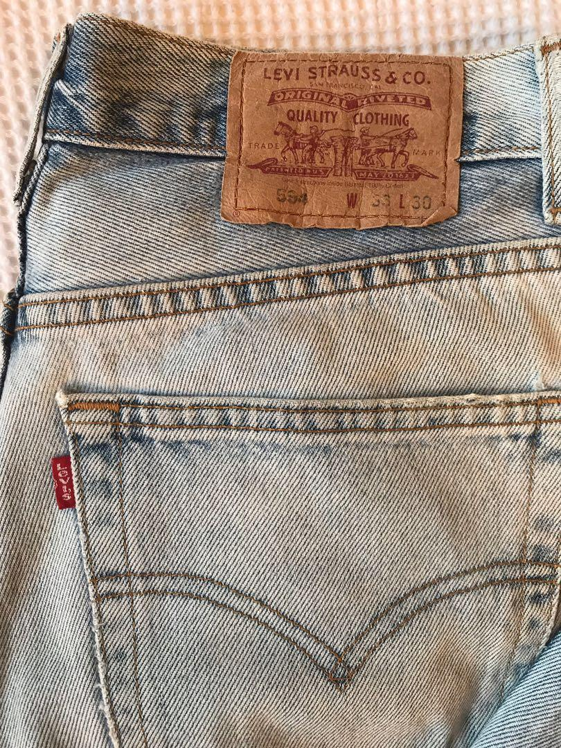 """Levi's red tab high waisted mom vintage retro jeans 33"""""""