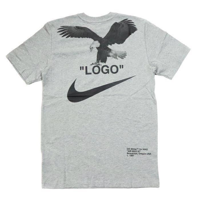 "ab16e82b M) Size Nike x Off White ""LOGO"" NRG A6 Tee, Men's Fashion, Clothes ..."