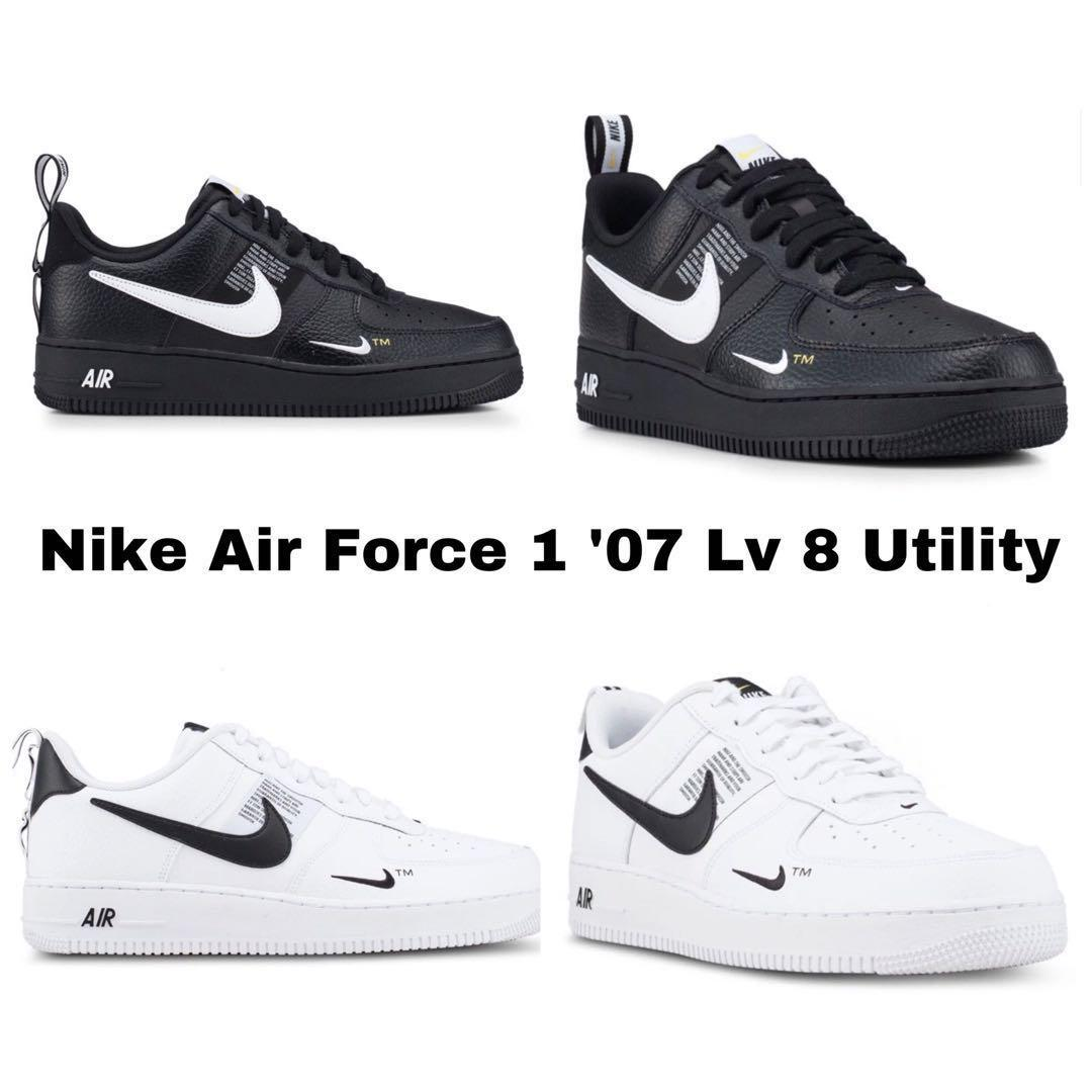 Level 8 Nike Utility ShoesMen's 1 Force '07 Air FashionFootwear MzVUqSp
