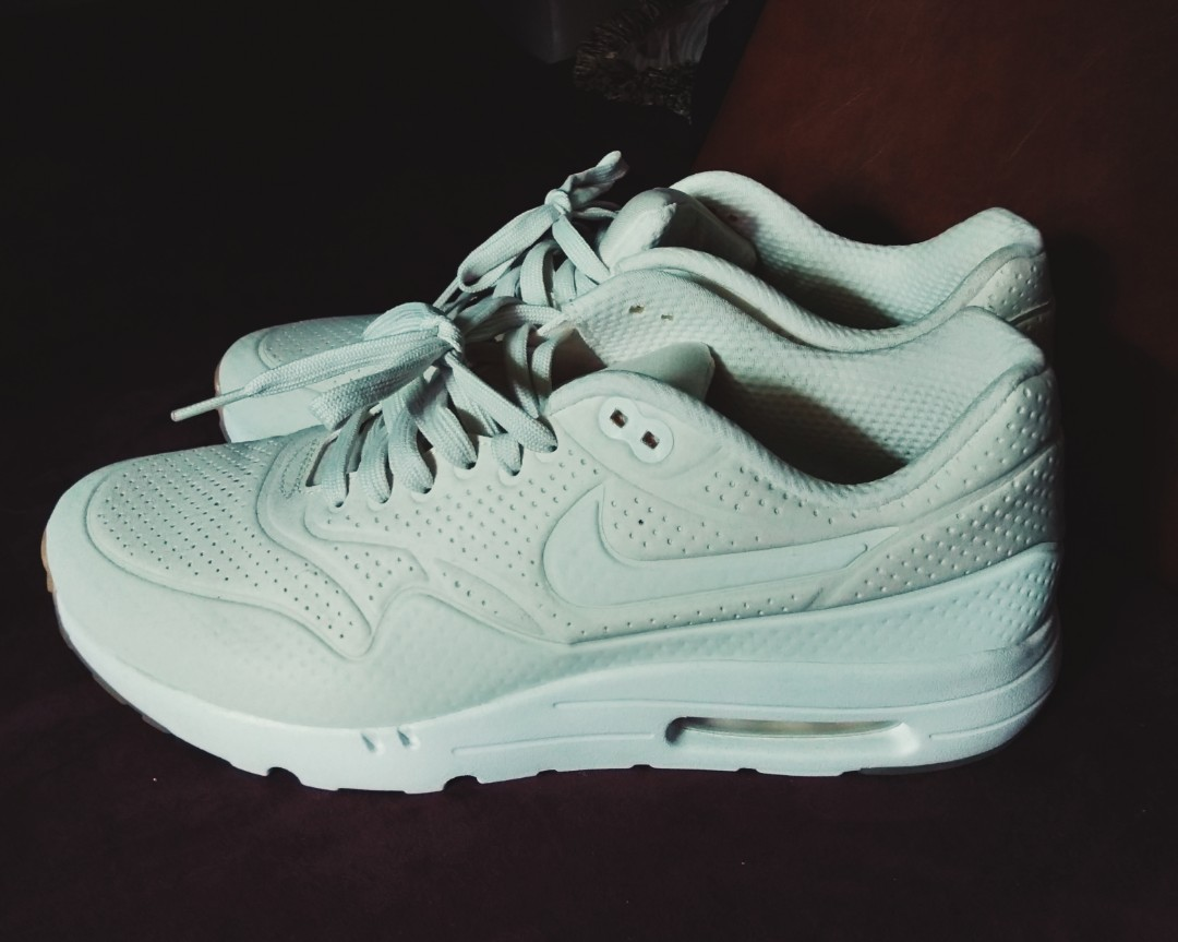 9d47d1f59db Nike Airmax 1 Ultra Moire White (Authentic)