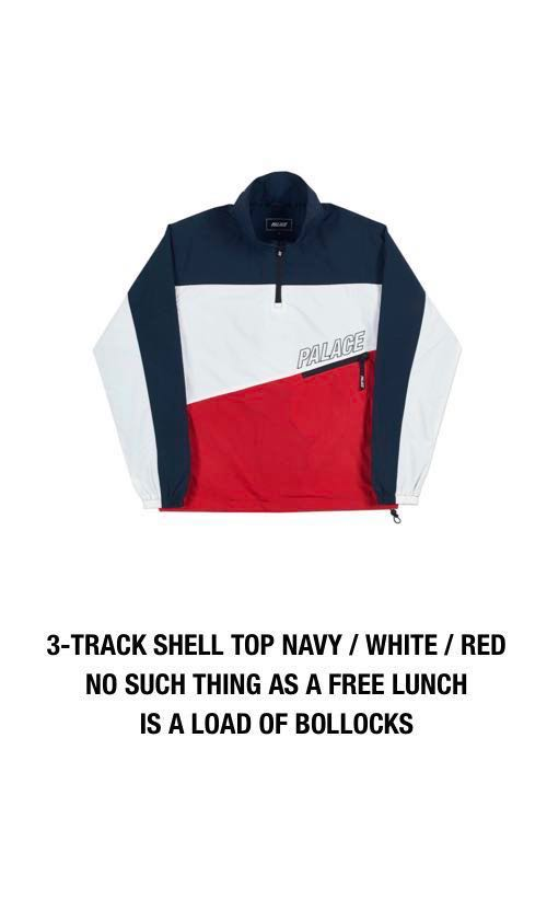 9c280ed49a Palace 3 Shell Track Top, Men's Fashion, Clothes, Outerwear on Carousell