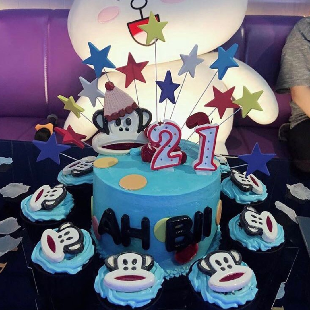 Paul Frank Birthday Party Cake And Cupcakes Design Craft Others