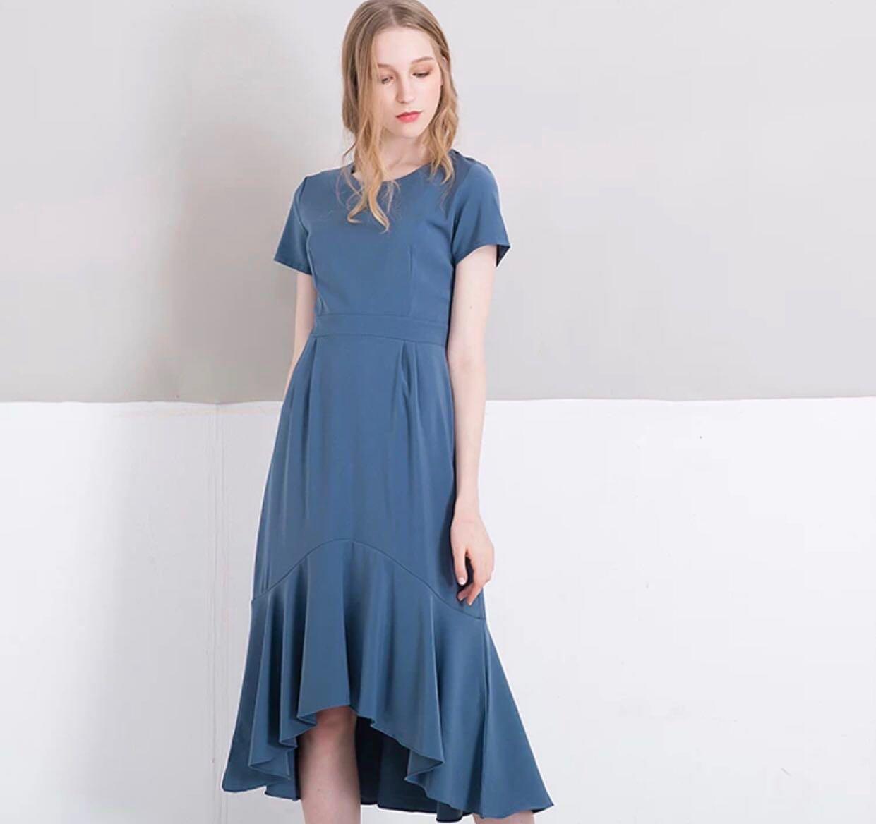 b7ebe1bcf577 🌷(PO) Divya Mermaid Midi Dress