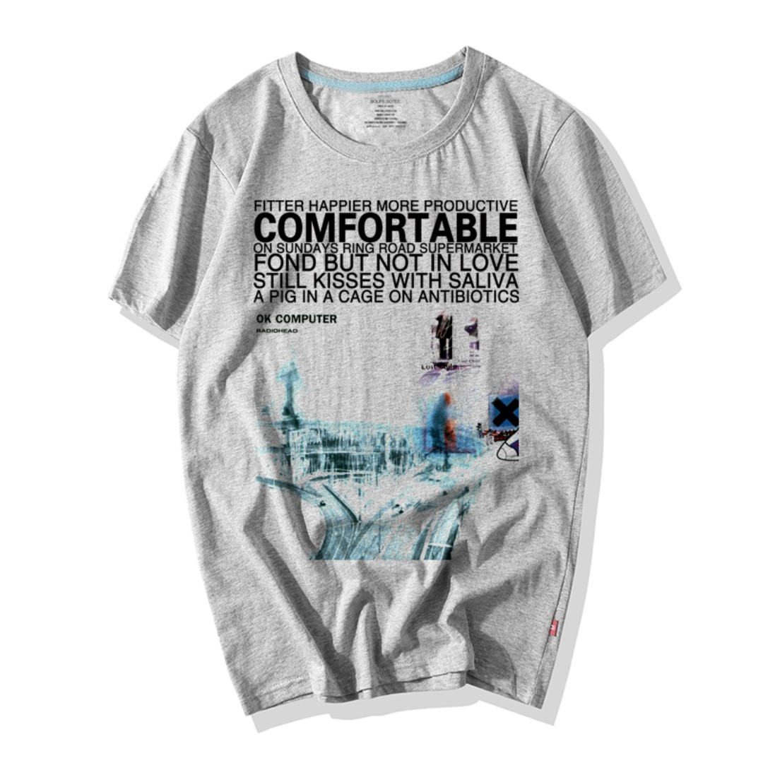 ece7a4fd434 PO) Radiohead Band T-Shirts, Men's Fashion, Clothes, Tops on Carousell