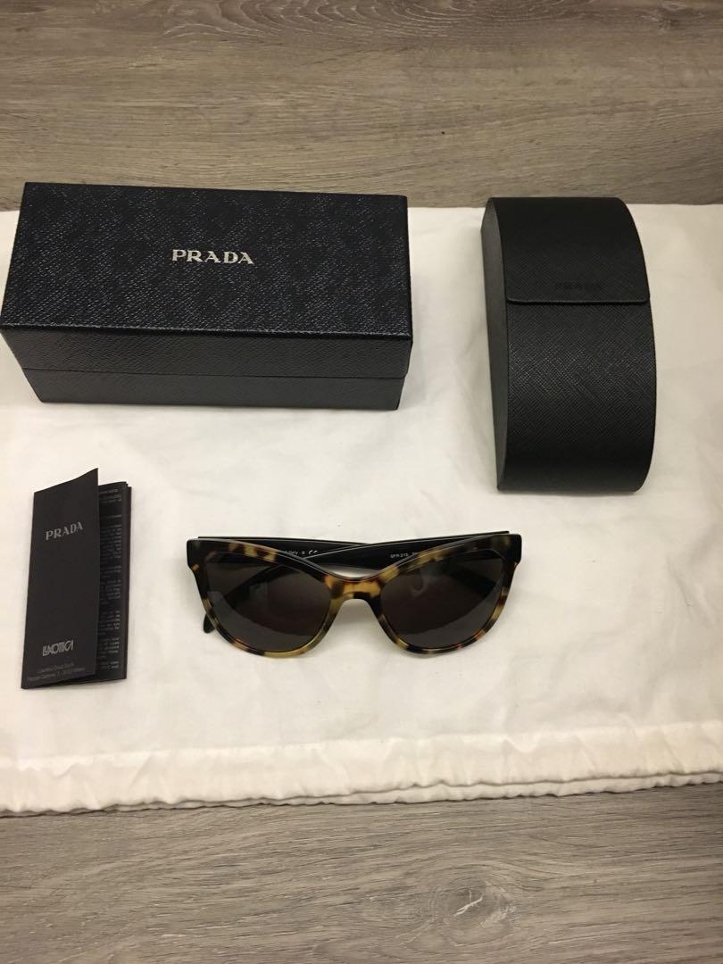 88a345aae1 Prada Sunglasses (Cat Eye) Fixed Price