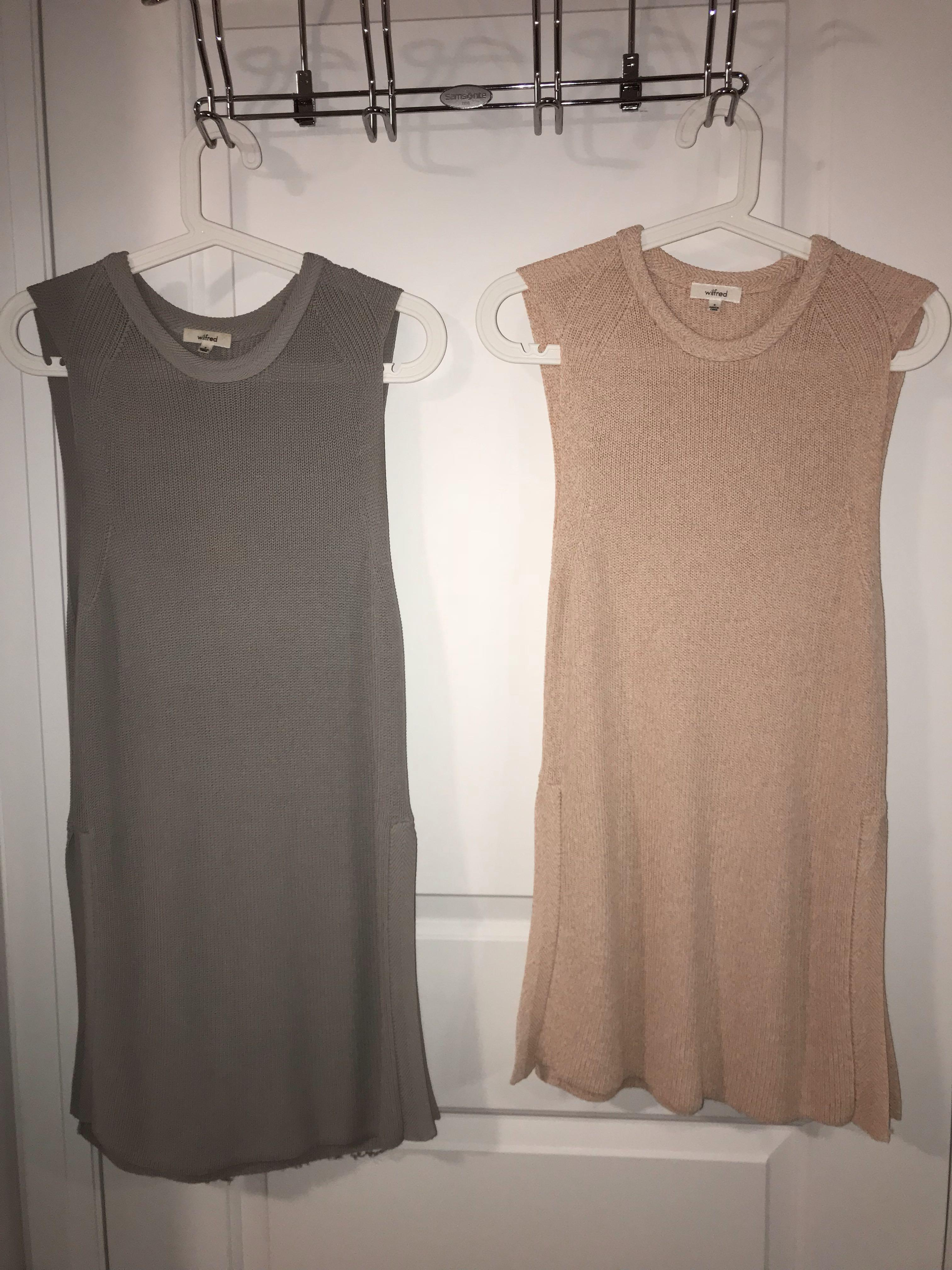 *PRICE DROP* Aritzia Wilfred Palmier Knit Sweaters SMALL 2 Colours