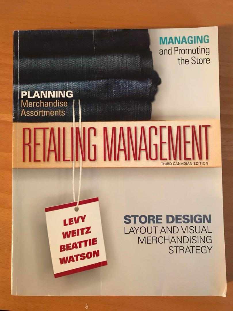 Retailing Management (third Canadian edition)