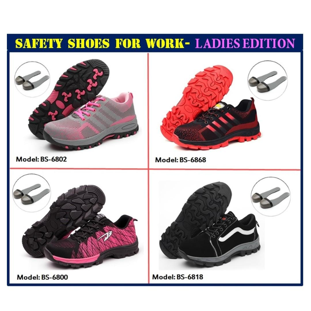 45fefb054d1 Safety Shoe for foot protection/ Ladies Safety Shoes with steel ...