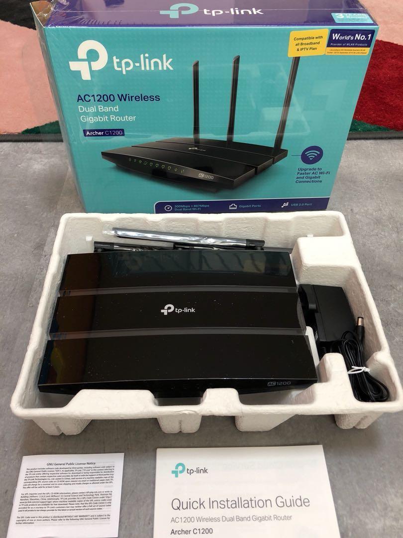 SALE!) tp-link Archer C1200 wifi dual band gigabit router