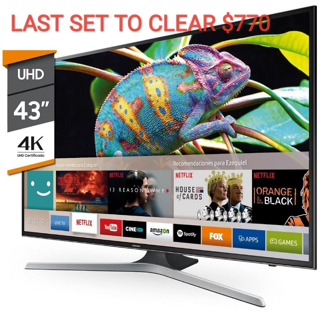 SAMSUNG SMART TV, Home Appliances, TVs & Entertainment
