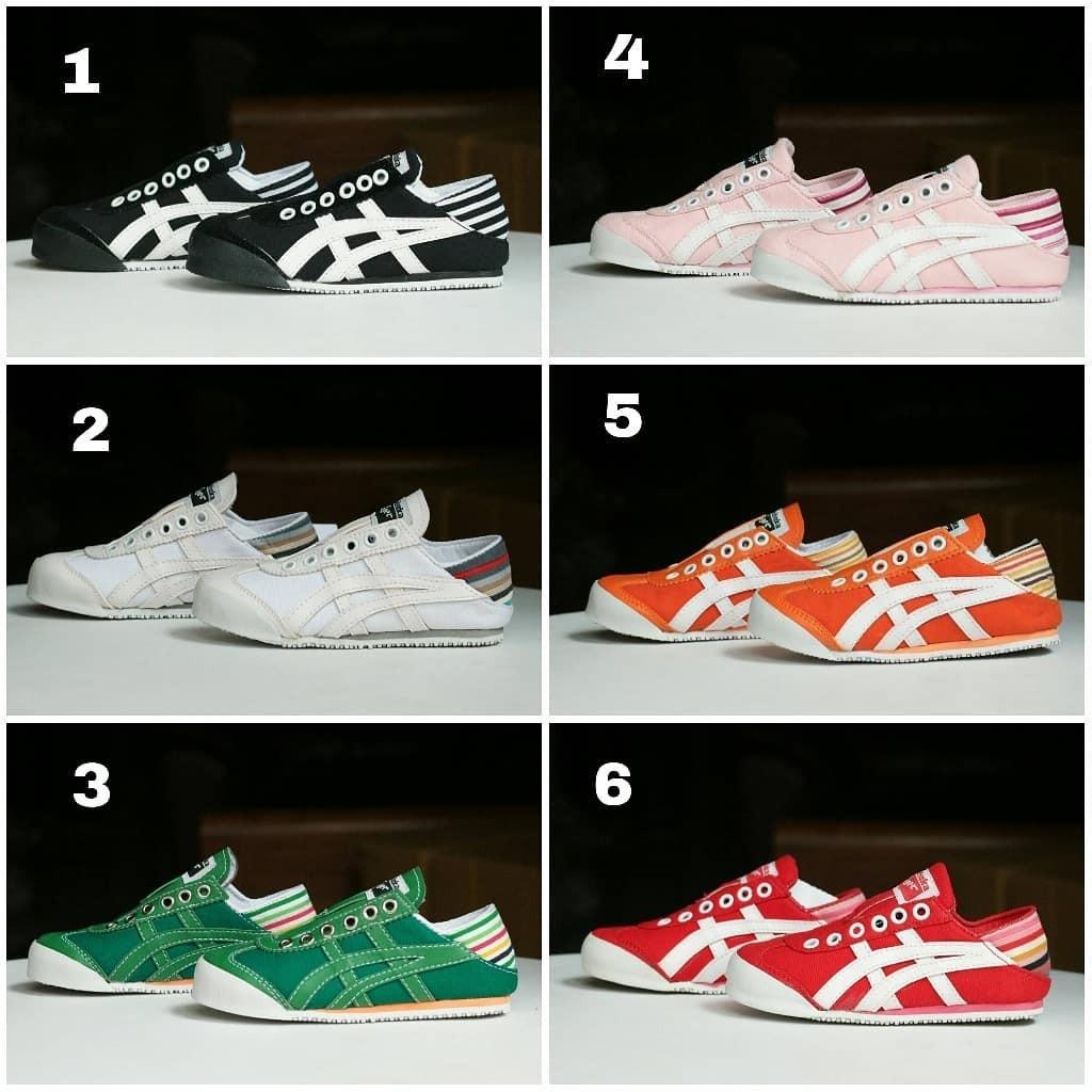 Sepatu Asics Tiger Onitsuka Slip On Anak d5ad20c5a9
