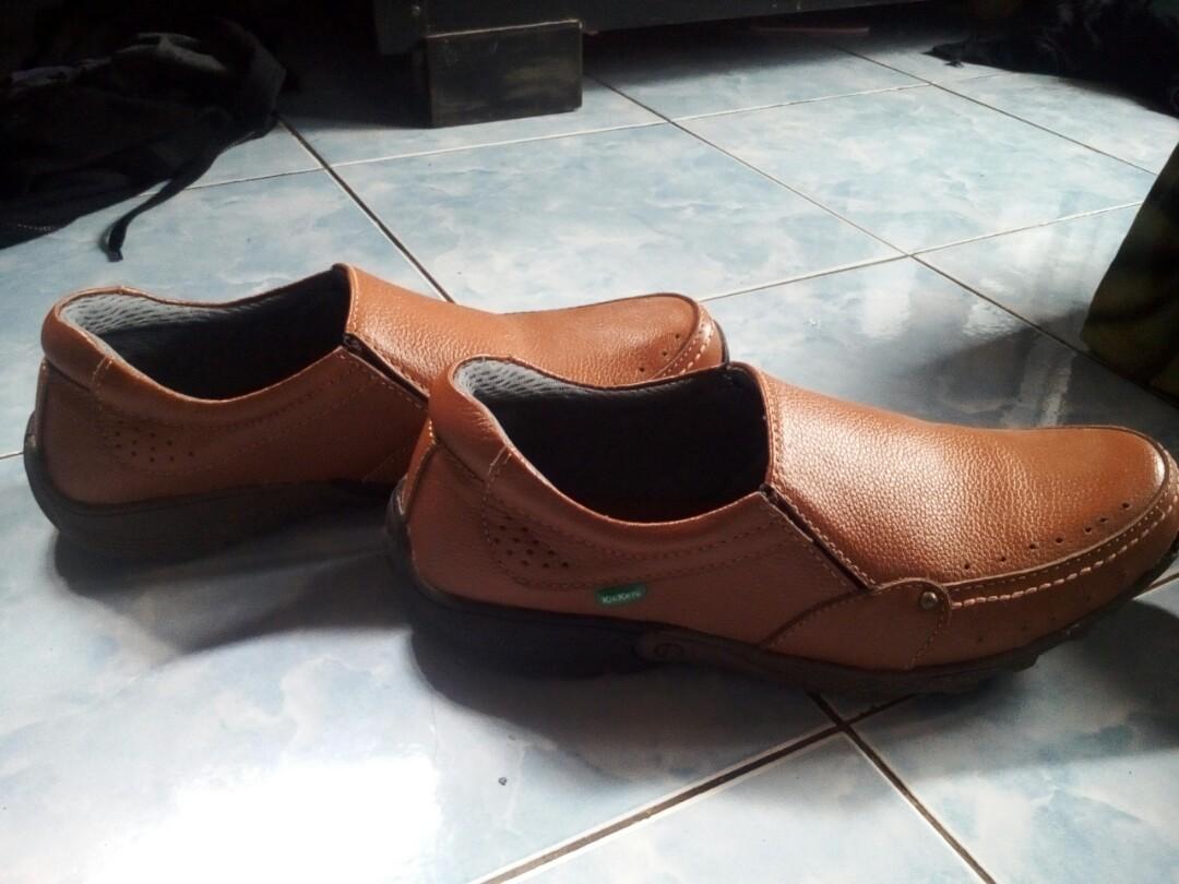 Sepatu Kickers Original Coklat cfef707a56