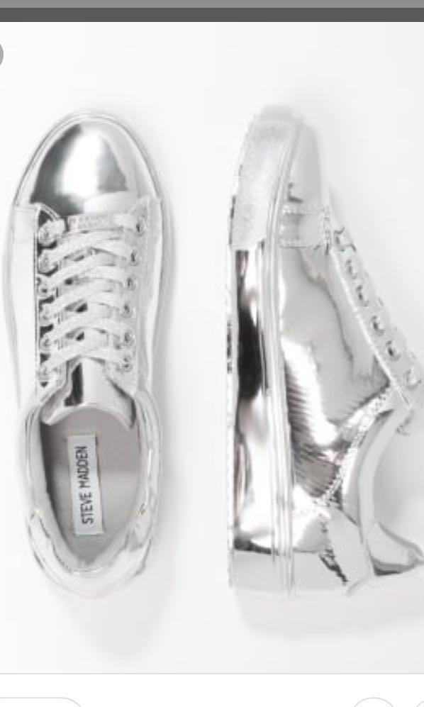 77bb96783 STEVE MADDEN TINMAN SNEAKERS, worn only once, Women's Fashion, Shoes ...