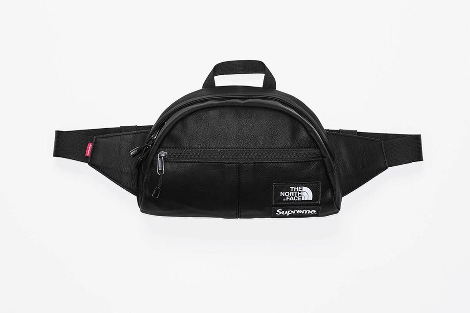 cf18f421f1 Supreme The North Face Leather Roo II Lumbar, Men's Fashion, Bags ...