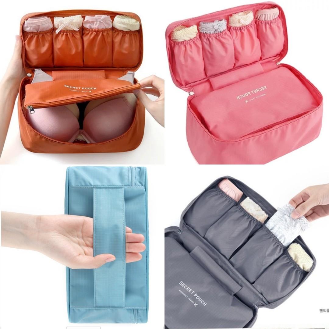 08a601641d8e Travel Pouch/Bra Pouch/ Pouch/ Travel Essentials /Travel Organizer ...