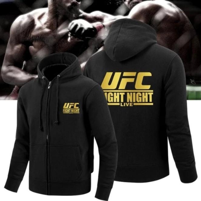 f18d00de13a3 UFC MMA Fight Jacket Hoodie - Limited edition ! UFC jacket, Sports ...