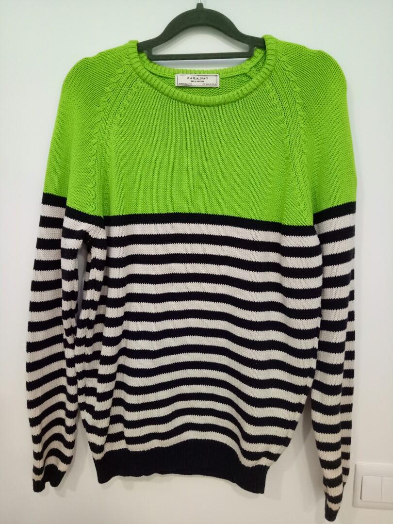 44df984e ZARA MAN Sweater, Men's Fashion, Clothes, Outerwear on Carousell