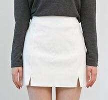 全新淺灰色韓式裙 ALL NEW light grey korean-style skirt