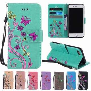 Samsung Galaxy / Phone Cover / Butterfly / Flip Case
