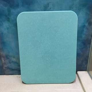 Turquoise Blue Absorbent Kitchen Bathroom Tile Mat