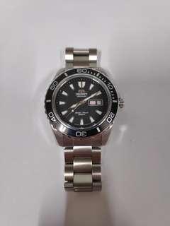 Orient Mako XL Black FEM75001 B6 automatic diver watch