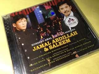 CD of Jamal Abdillah & Saleem