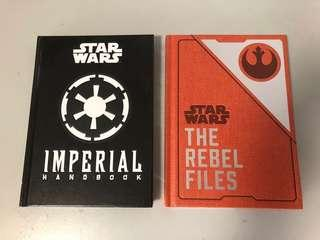Star Wars rebel files and imperial handbook hardcover set