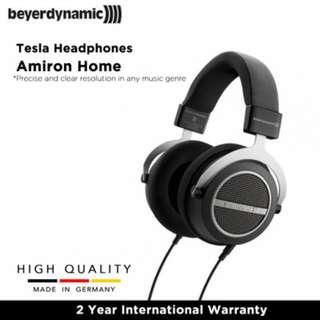 Beyerdynamic Amiron Home Tesla High-End Over-Ear Open-Back Stereo Headphones