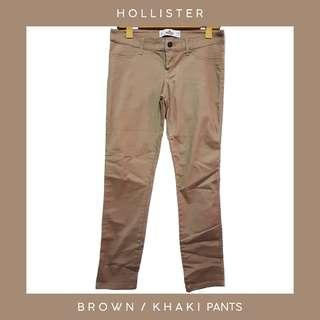 Hollister Brown Pants