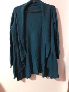 Blue turquoise Cardigan
