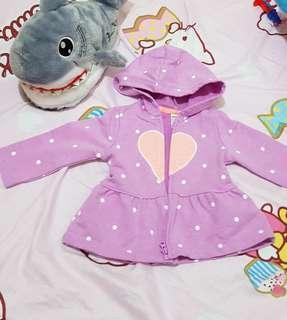 寶寶荷葉愛心外套