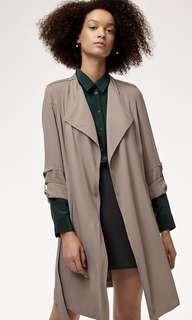 Aritzia Babaton Quincey Trench Jacket