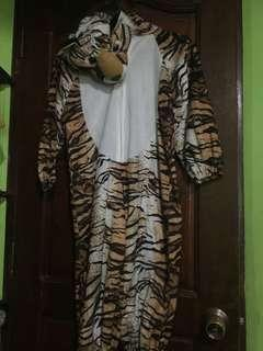 Onesie Tiger for kids