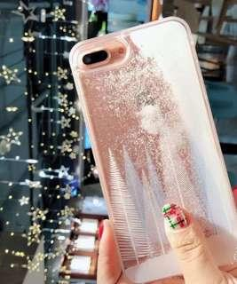 Iphone 8 Glitter Sand Case