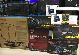 Gaming PC i7-7700K ASUS ROG Formula GTX1080