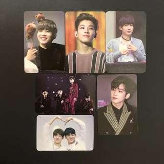 Seventeen Wonwoo Raffine Season's Greeting Photocards