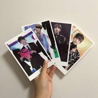 Seventeen Wonwoo Raffine Season's Greeting Postcards