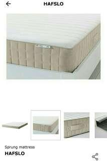 Ikea hafslo queen bed for sale!
