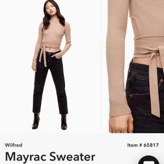 ISO Aritzia Wilfred Mayrac Sweater