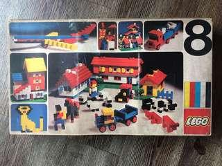 Lego Vintage 8 Basic Set