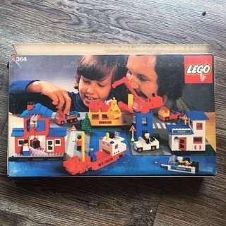Lego Vintage 364 Legoland Harbour Scene