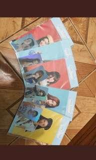Red Velvet Summer Magic hologram standee