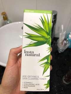 InstaNatural Age-Defying and Skin Clearing Facial Toner