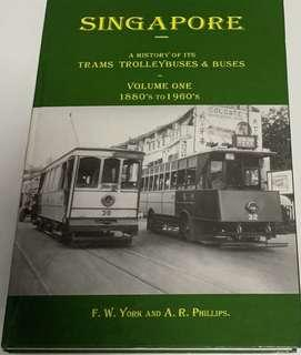 Singapore history of its trams, trolley buses and buses