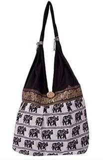 Indian Tote Bag Animal Print 4 pcs for $17