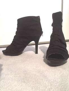 Black Booties (8.5)