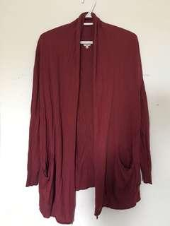 Wilfred red cardigan