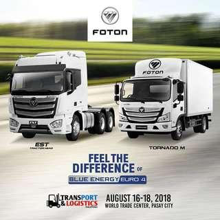 FOTON LIGTH DUTY TRUCKS AND PASSENGER VEHICLE GREAT DEALS PROMO