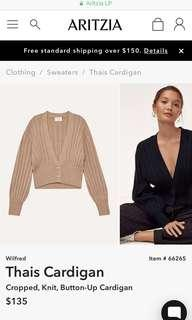 ISO: Aritzia Wilfred thais cardigan