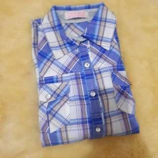 Tralala blue checkered shirt [FWP]